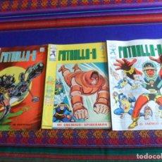 Cómics: MUY BUEN ESTADO, VÉRTICE VOL. 3 PATRULLA X NºS 7, 16 Y 21. 1976. 35 PTS.. Lote 260414575