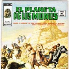 Cómics: EL PLANETA DE LOS MONOS (RELATOS SALVAJES) VOL. 2 Nº: 6. VÉRTICE, 1977.. Lote 260699600