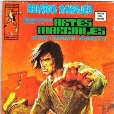 Cómics: ARTES MARCIALES (RELATOS SALVAJES) Nº: 2. VÉRTICE, 1975.. Lote 260700930