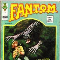 Fumetti: FANTOM VOL.1 Nº: 38. VÉRTICE, 1974.. Lote 260711365