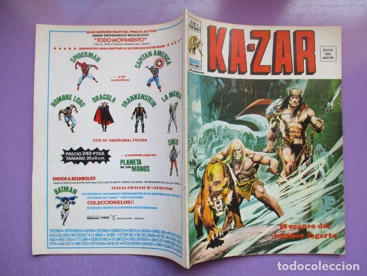 Cómics: KA ZAR Nº 6 VERTICE VOLUMEN 2 ¡¡¡¡¡ BUEN ESTADO!!!! - Foto 3 - 260715315