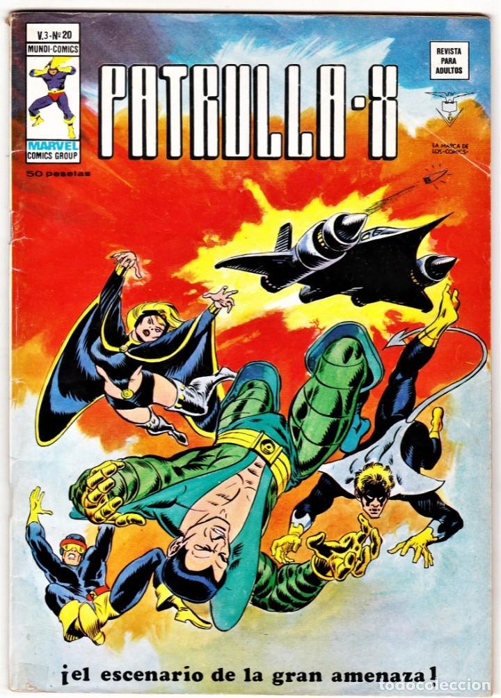 PATRULLA X VOL.3 Nº: 20. VÉRTICE, 1975. (Tebeos y Comics - Vértice - Patrulla X)