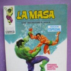 Comics : LA MASA Nº 8 VERTICE TACO ¡¡¡¡¡ MUY BUEN ESTADO!!!!. Lote 260728925