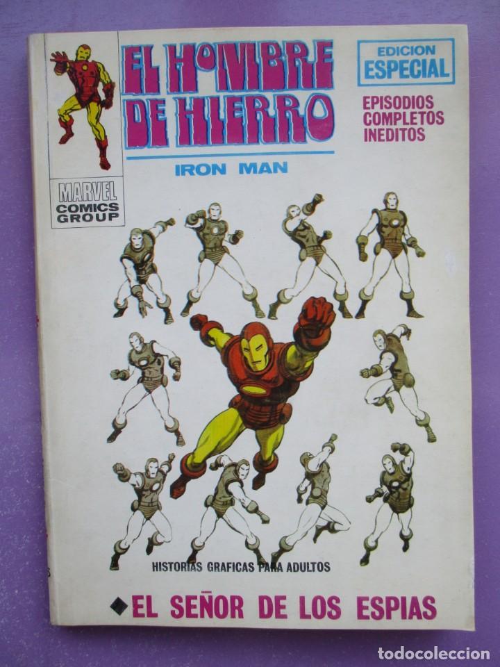 EL HOMBRE DE HIERRO Nº 15 VERTICE TACO ¡¡¡¡¡ BUEN ESTADO!!!! (Tebeos y Comics - Vértice - V.1)