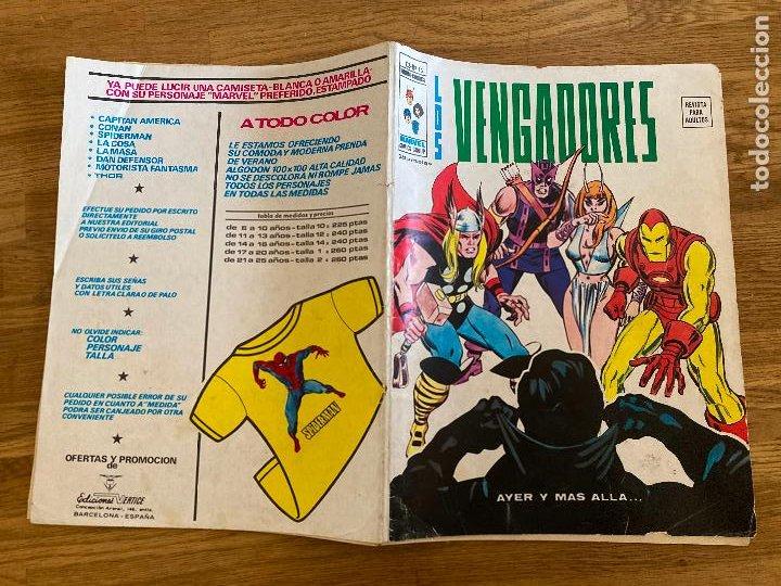 ¡¡LIQUIDACION!! PEDIDO MINIMO 5 EUROS - LOS VENGADORES - V.2 / Nº 12 - VERTICE - GCH (Tebeos y Comics - Vértice - Otros)