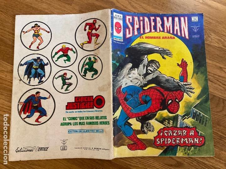 ¡¡LIQUIDACION!! PEDIDO MINIMO 5 EUROS - SPIDERMAN EL HOMBRE ARAÑA - V.3 / Nº 54 - VERTICE - GCH (Tebeos y Comics - Vértice - Otros)