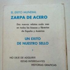Cómics: ZARPA DE ACERO Nª19 EN LAS GARRAS DEL BUITRE. Lote 261105570