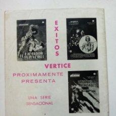 Cómics: COMIC VÉRTICE GRAPA SPIDERMAN SPIDER Nº 3 7 PTS 1967 CONTRA EL CRIMEN. Lote 261108775