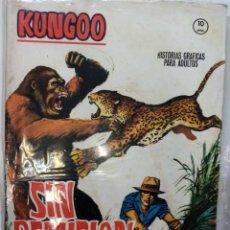 Cómics: KUNGOO NÚMEROS 1 Y 2 COMPLETA - VÉRTICE - 1965. Lote 261113170