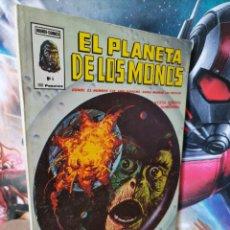 Cómics: CASI EXCELENTE ESTADO EL PLANETA DE LOS MONOS 4 MUNDI COMICS VERTICE. Lote 261192255