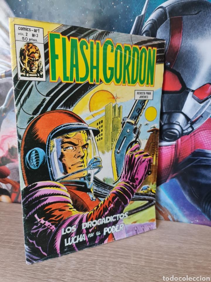 FLASH GORDON 3 VOL II NORMAL ESTADO COMICS VERTICE (Tebeos y Comics - Vértice - Flash Gordon)