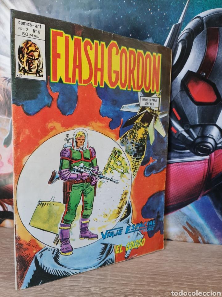 MUY BUEN ESTADO FLASH GORDON 6 VOL II COMICS VERTICE (Tebeos y Comics - Vértice - Flash Gordon)