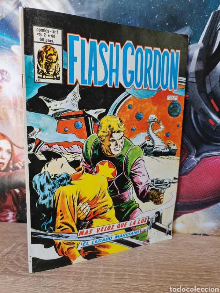 MUY BUEN ESTADO FLASH GORDON 40 VOL II COMICS VERTICE (Tebeos y Comics - Vértice - Flash Gordon)