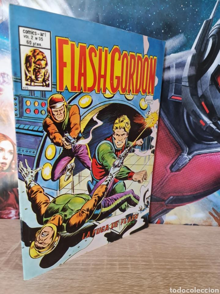 CASI EXCELENTE ESTADO FLASH GORDON 35 VOL II COMICS VERTICE (Tebeos y Comics - Vértice - Flash Gordon)