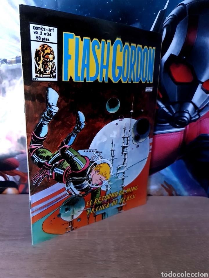 EXCELENTE ESTADO FLASH GORDON 34 VOL II COMICS VERTICE (Tebeos y Comics - Vértice - Flash Gordon)