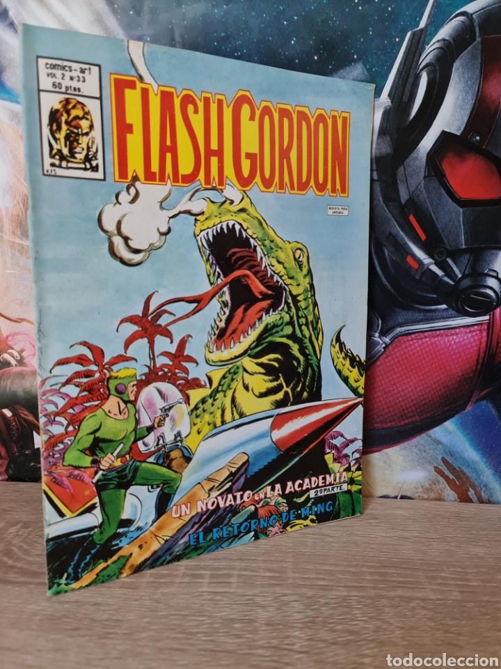 MUY BUEN ESTADO FLASH GORDON 33 VOL II COMICS VERTICE (Tebeos y Comics - Vértice - Flash Gordon)