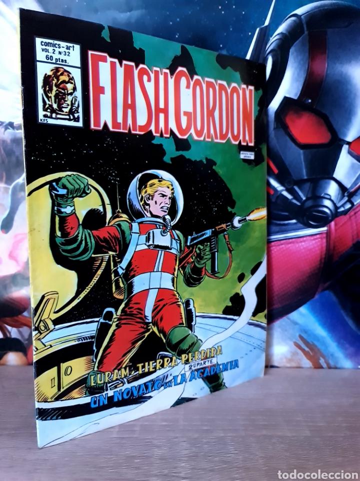 CASI EXCELENTE ESTADO FLASH GORDON 32 VOL II COMICS VERTICE (Tebeos y Comics - Vértice - Flash Gordon)
