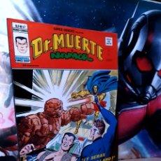 Cómics: EXCELENTE ESTADO SUPER HÉROES 67 DR MUERTE Y NAMOR MUNDI CÓMICS VERTICE. Lote 261519925