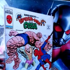 Cómics: DE KIOSCO SUPER HÉROES 61 SPIDER-MAN Y LA COSA MUNDI CÓMICS VERTICE. Lote 261521195