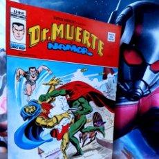 Cómics: EXCELENTE ESTADO SUPER HÉROES 68 DR MUERTE Y NAMOR MUNDI CÓMICS VERTICE. Lote 261521875