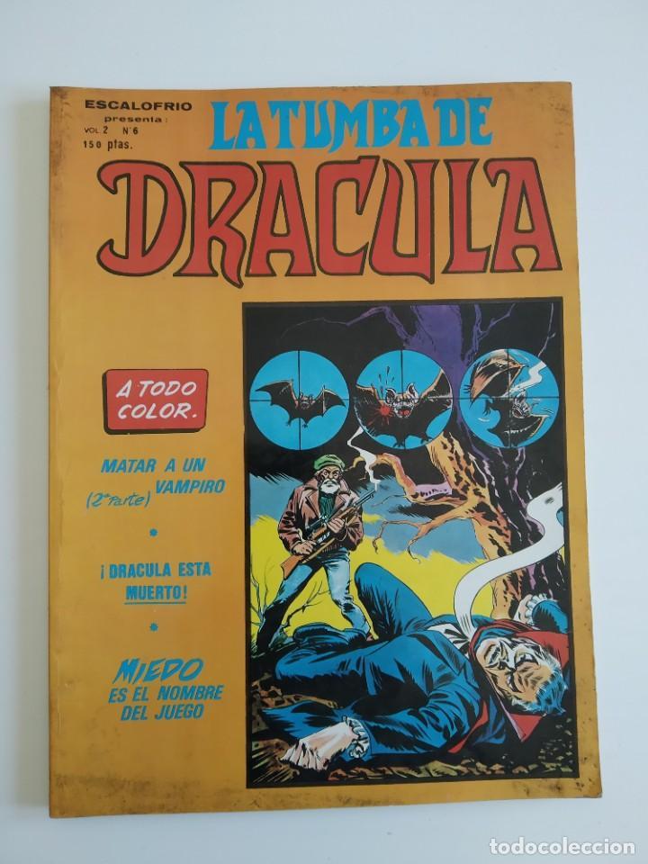 VERTICE ~ LA TUMBA DE DRACULA ~ VOL.2 Nº6 (Tebeos y Comics - Vértice - Otros)