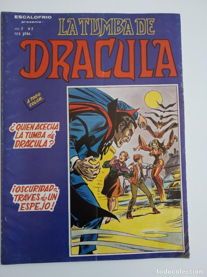 VERTICE ~ LA TUMBA DE DRACULA ~ VOL.2 Nº2 (Tebeos y Comics - Vértice - Otros)