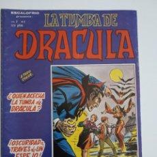 Cómics: VERTICE ~ LA TUMBA DE DRACULA ~ VOL.2 Nº2. Lote 261696840