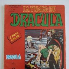 Cómics: VERTICE ~ LA TUMBA DE DRACULA ~ VOL.2 Nº1. Lote 261697140