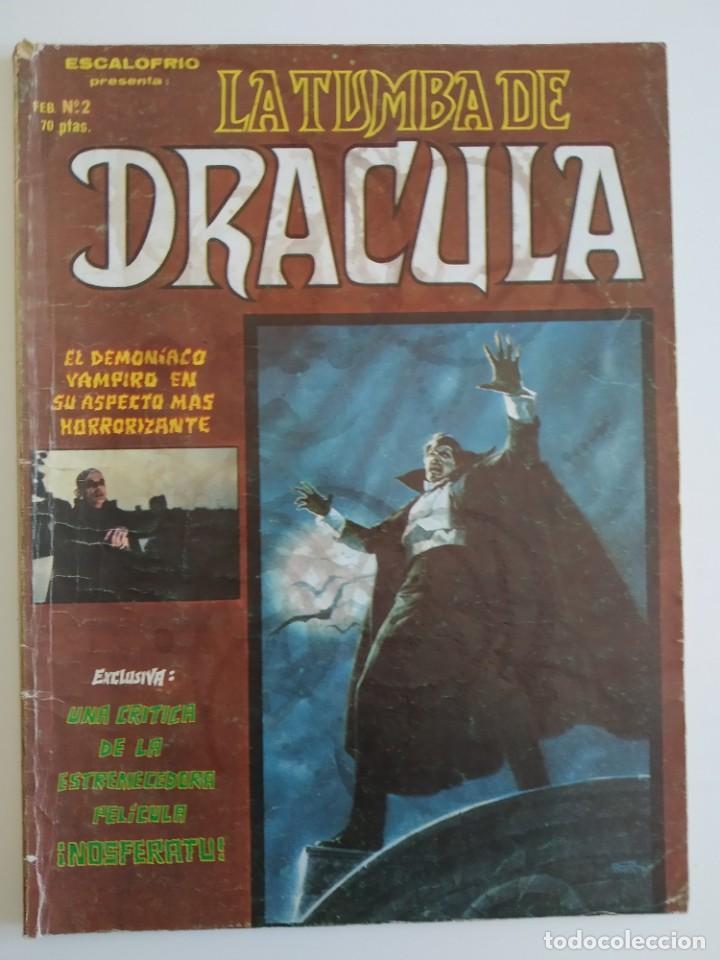 VERTICE ~ LA TUMBA DE DRACULA ~ Nº2 (Tebeos y Comics - Vértice - Otros)