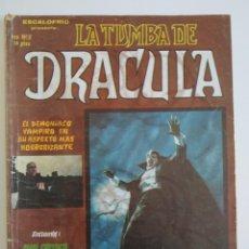 Cómics: VERTICE ~ LA TUMBA DE DRACULA ~ Nº2. Lote 261697585
