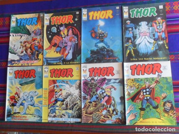 VÉRTICE VOL. 2 THOR NºS 23 29 34 39 41. 1974. 35 PTS. BUEN ESTADO. (Tebeos y Comics - Vértice - Thor)