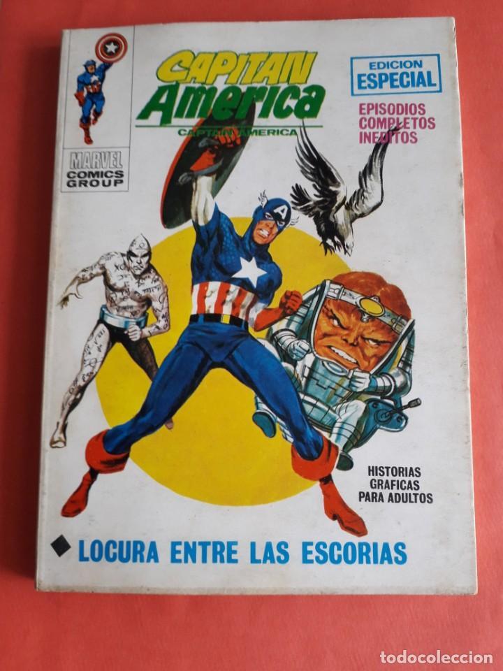 CAPITAN AMERICA N-15 EN MUY BUEN ESTADO (Tebeos y Comics - Vértice - Capitán América)