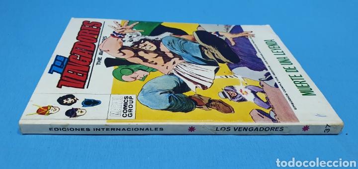 Cómics: LOS VENGADORES - MUERTE DE UNA LEYENDA - VÉRTICE - EDICIÓN TACO - Foto 4 - 262193780