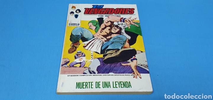 LOS VENGADORES - MUERTE DE UNA LEYENDA - VÉRTICE - EDICIÓN TACO (Tebeos y Comics - Vértice - Vengadores)