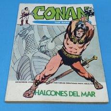 Cómics: CONAN EL BÁRBARO - HALCONES DEL MAR - VÉRTICE - EDICIÓN TACO. Lote 262197325