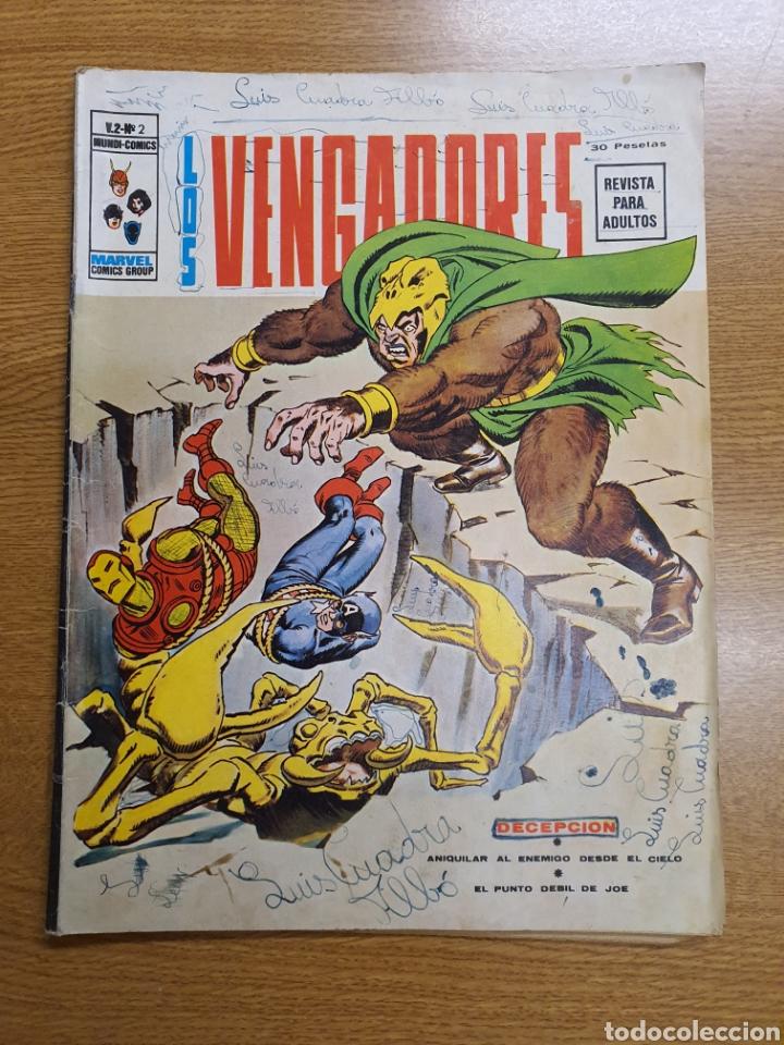 LOS VENGADORES, VÉRTICE, VOL. 2 , NÚMERO 2 (Tebeos y Comics - Vértice - Vengadores)