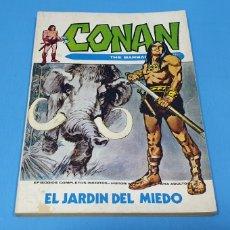 Cómics: CONAN EL BÁRBARO - EL JARDÍN DEL MIEDO - VÉRTICE - EDICIÓN TACO. Lote 262200730