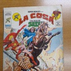Cómics: LA COSA Y EL HIJO DE SATAN, VÉRTICE, VOL.2, NÚMERO 56. Lote 262215720