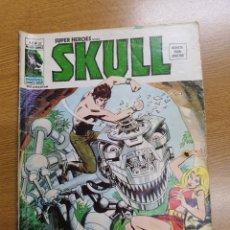 Cómics: SUPERHEROES PRESENTA: SKULL , VÉRTICE, VOL.2, NÚMERO 52. Lote 262218670