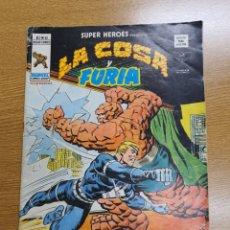 Cómics: SUPER HEROES PRESENTA: LA COSA Y FURIA , VÉRTICE, VOL.2, NÚMERO 87. Lote 262219050