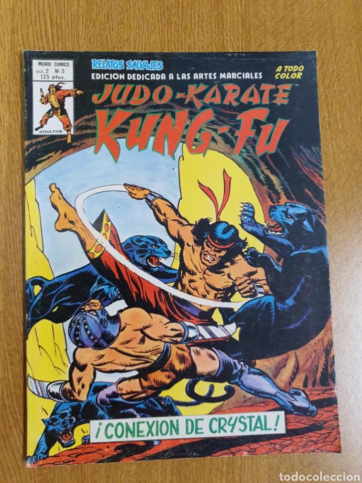 RELATOS SALVAJES, JUDO KARATE KUNG FU , VÉRTICE, VOL.2, NÚMERO 5 , COLOR (Tebeos y Comics - Vértice - Relatos Salvajes)