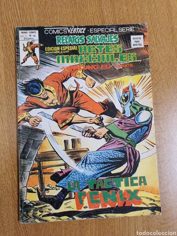 RELATOS SALVAJES, ARTES MARCIALES, VÉRTICE, VOL.1 , NÚMERO 48 (Tebeos y Comics - Vértice - Relatos Salvajes)