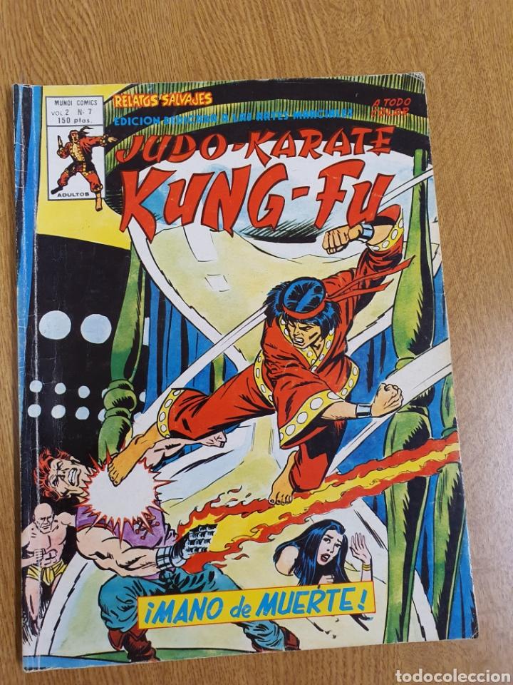 SHANG CHI , RELATOS SALVAJES, VÉRTICE, VOL.2, NÚMERO 7 , COLOR (Tebeos y Comics - Vértice - Relatos Salvajes)