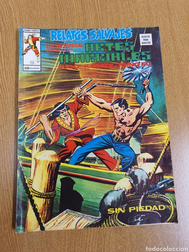 SHANG CHI , RELATOS SALVAJES 16 , VÉRTICE, MUNDI-COMICS (Tebeos y Comics - Vértice - Relatos Salvajes)