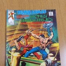 Cómics: SHANG CHI , RELATOS SALVAJES 16 , VÉRTICE, MUNDI-COMICS. Lote 262221785