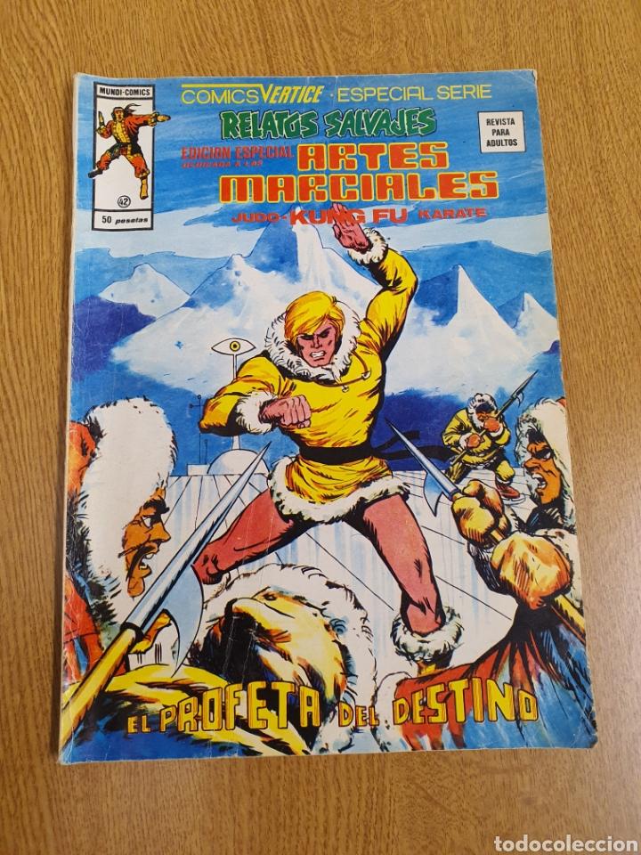 RELATOS SALVAJES, VÉRTICE, MUNDI-COMICS, NÚMERO 42 (Tebeos y Comics - Vértice - Relatos Salvajes)