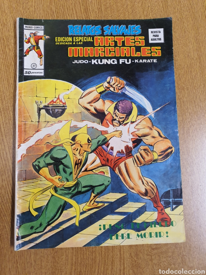 RELATOS SALVAJES, EDICIÓN ESPECIAL ARTES MARCIALES, VÉRTICE, MUNDI-COMICS, NÚMERO 21 (Tebeos y Comics - Vértice - Relatos Salvajes)