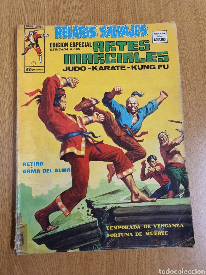 RELATOS SALVAJES, EDICIÓN ESPECIAL ARTES MARCIALES, VÉRTICE, MUNDI-COMICS, NÚMERO 3 (Tebeos y Comics - Vértice - Relatos Salvajes)
