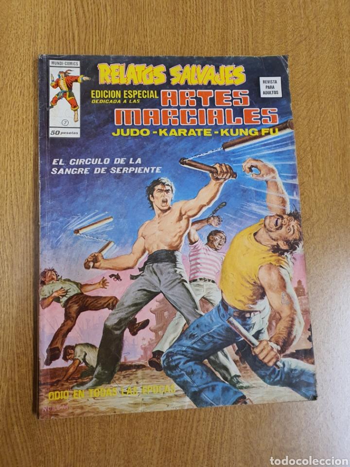 RELATOS SALVAJES, EDICIÓN ESPECIAL ARTES MARCIALES, VÉRTICE ,MUNDI-COMICS, NÚMERO 7 (Tebeos y Comics - Vértice - Relatos Salvajes)