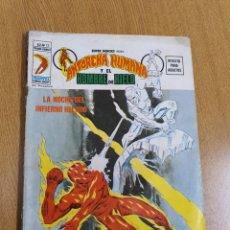 Cómics: SUPER HEROES PRESENTA: ANTORCHA HUMANA Y EL HOMBRE DE HIELO , VÉRTICE, VOL.2 , NÚMERO 12. Lote 262228895
